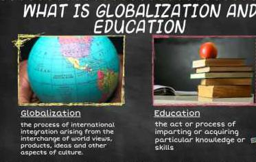 Education and Globalization